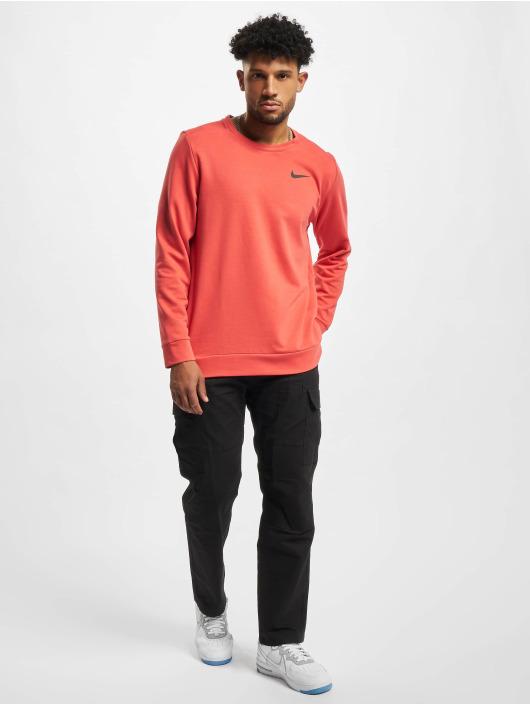 Nike T-Shirt manches longues Dri-Fit rouge