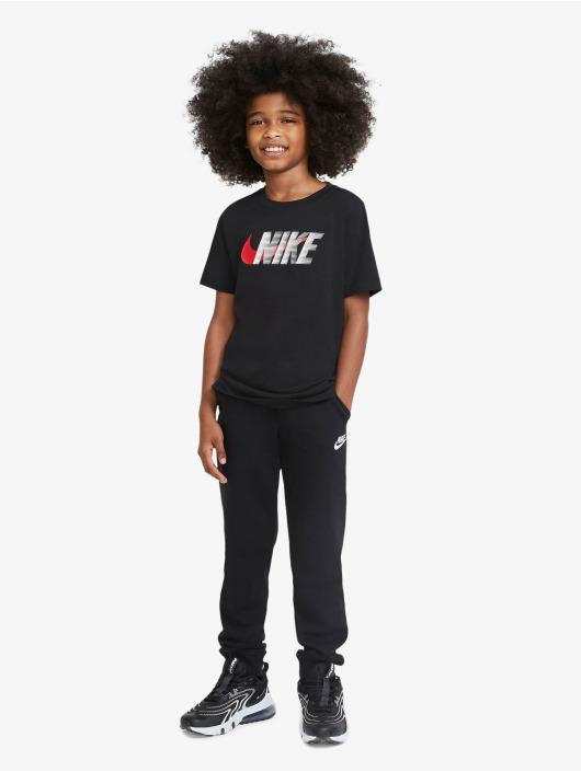 Nike T-shirt Swoosh nero