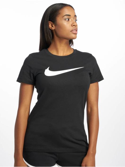 Nike T-Shirt Swoosh noir
