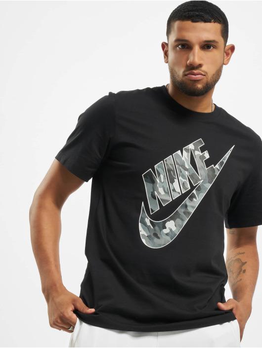 Nike T-Shirt Club HBR Camo 2 noir