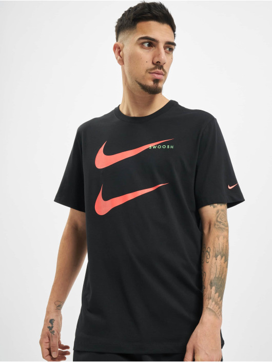 Nike T-Shirt Swoosh PK 2 noir