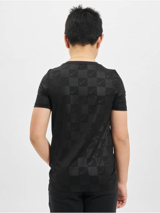 Nike T-Shirt Dry Soccer AOP noir