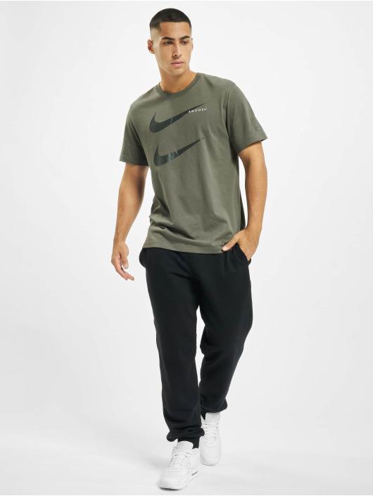 Nike T-Shirt Swoosh PK 2 olive