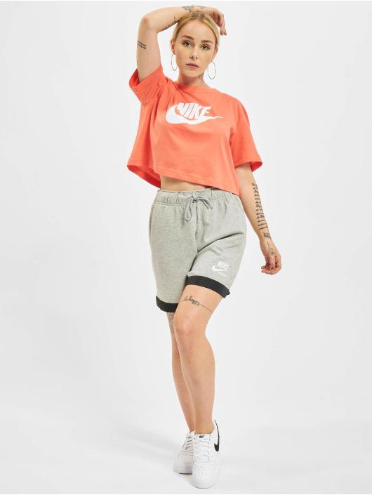 Nike T-Shirt Essential Icon Future Crop orange