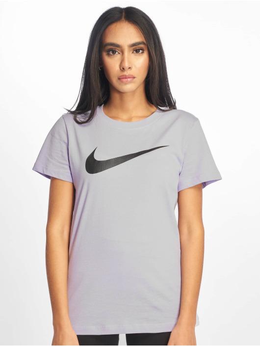 Nike T-Shirt Swoosh pourpre
