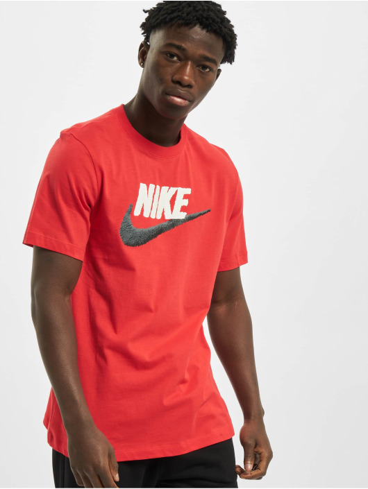 Nike T-Shirt Brand Mark red