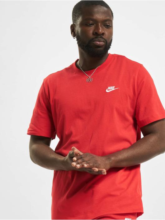 Nike T-shirt M Nsw Club röd