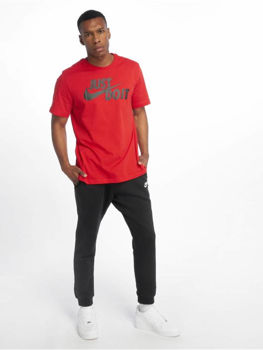 Nike t-shirt Just Do It Swoosh rood