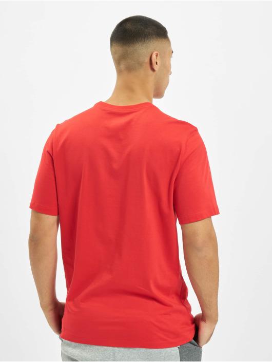 Nike t-shirt Sportswear rood