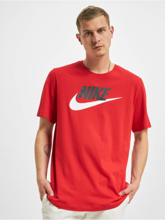 Nike t-shirt Icon Futura rood