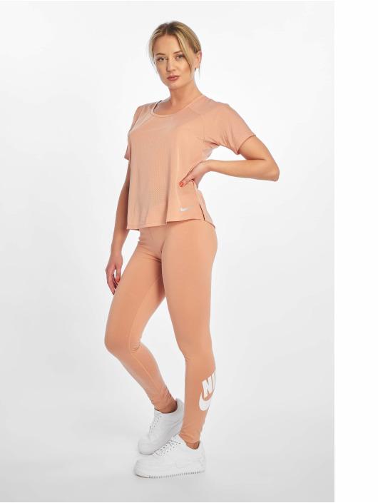 Nike T-shirt Miler SS Breathe rosa chiaro