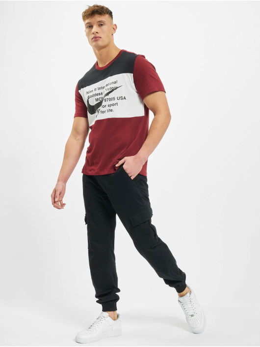 Nike T-shirt Swoosh rosso