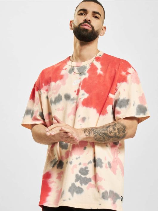 Nike T-Shirt Sportswear Tie-Dye rouge