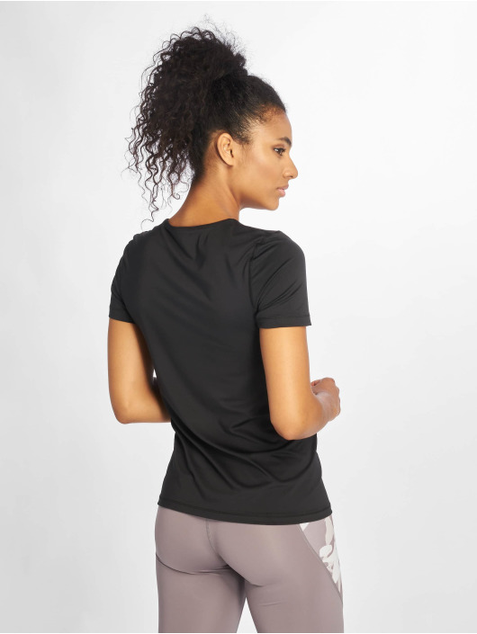 Nike T-Shirt All Over Mesh schwarz