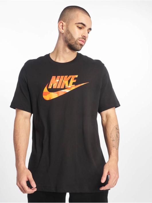 Nike T-Shirt Camo 1 schwarz