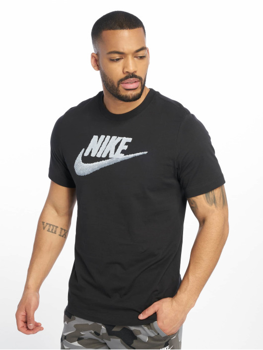 Nike T-Shirt Brand Mark schwarz