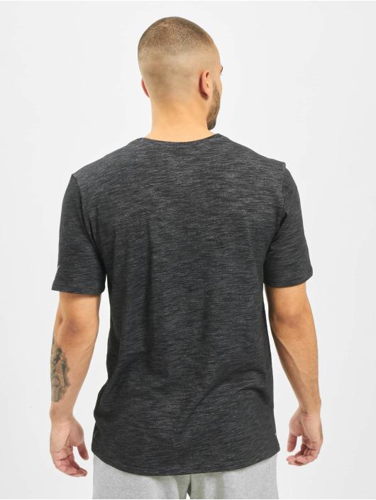 Nike T-Shirt Slub schwarz
