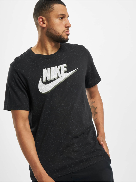 Nike T-Shirt Print Pack Swoosh schwarz
