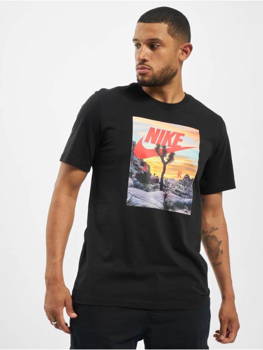 Nike T-Shirt Festival Photo schwarz