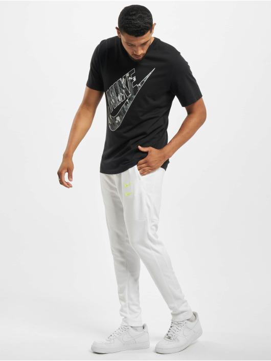 Nike T-Shirt Club HBR Camo 2 schwarz