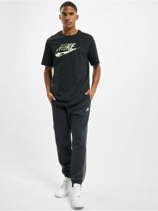 Nike T-Shirt Trend Spike schwarz