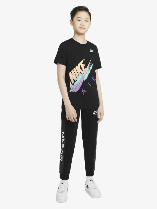Nike T-Shirt Beach Brandmark schwarz