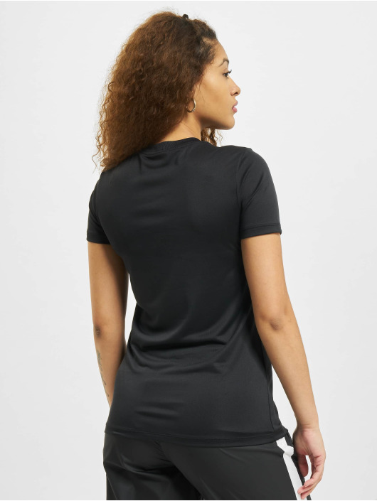 Nike T-Shirt W Nk Df Leg Crew schwarz