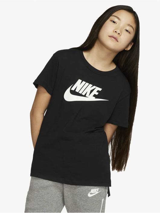 Nike T-Shirt Basic Futura schwarz