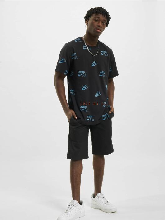Nike T-Shirt AOP schwarz