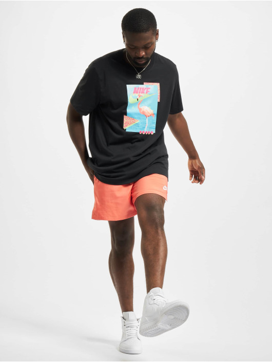 Nike T-Shirt Flamingo schwarz