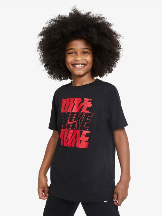 Nike T-Shirt Stack schwarz