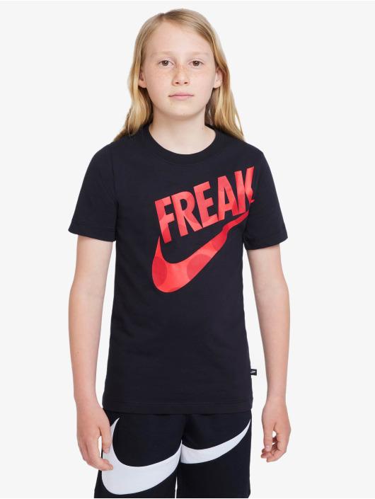 Nike T-Shirt Giannis Freak Dots schwarz