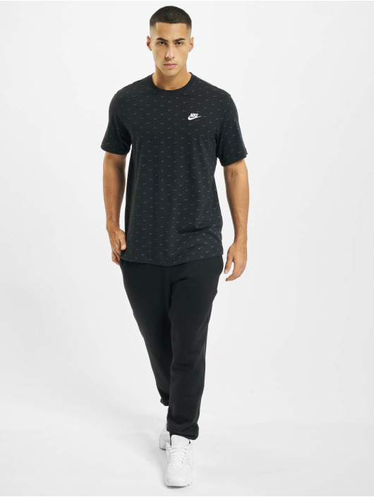 Nike T-shirt Sportswear Swoosh svart