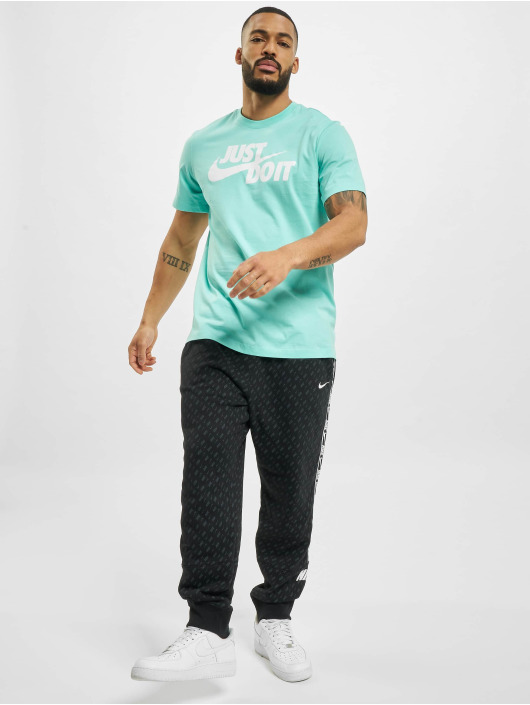 Nike T-Shirt Just Do It turquoise