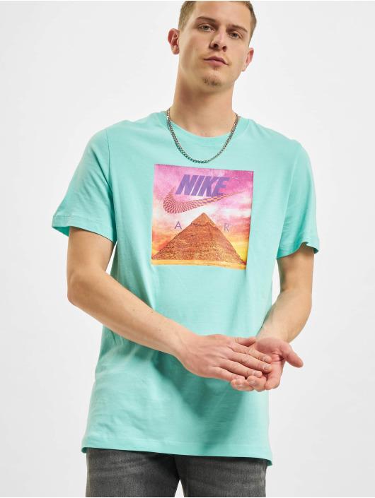 Nike T-Shirt Festival Photo turquoise