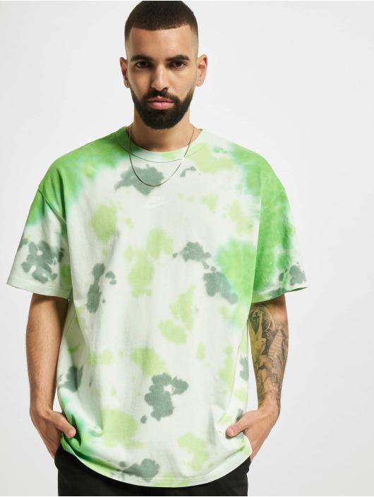 Nike T-Shirt Sportswear Tie-Dye vert