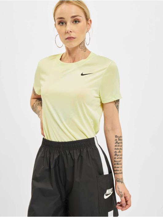 Nike T-Shirt Dry Crew vert