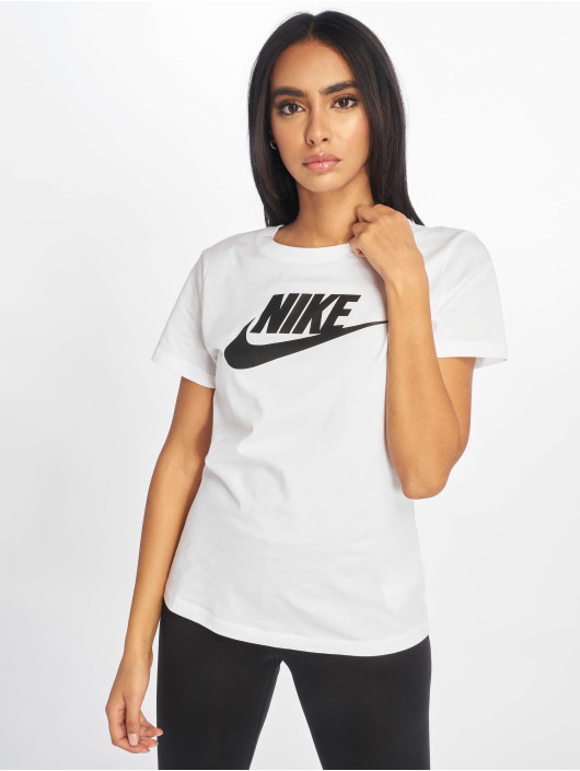 Nike T-Shirt Essential Icon Futura weiß