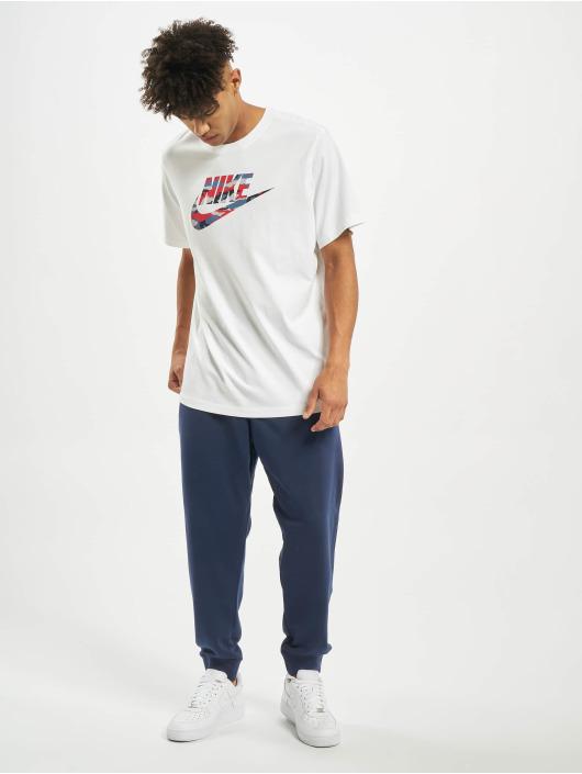 Nike T-Shirt Camo 2 weiß