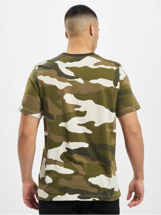 Nike T-Shirt Camo AOP weiß