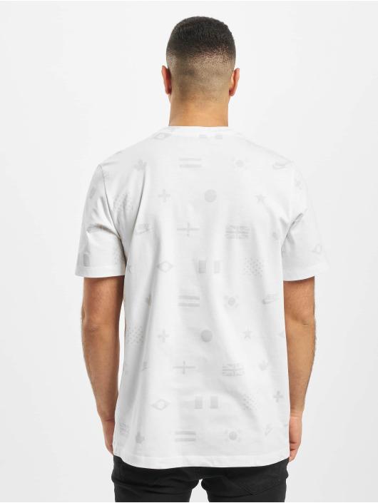 Nike T-Shirt Preheat AOP weiß