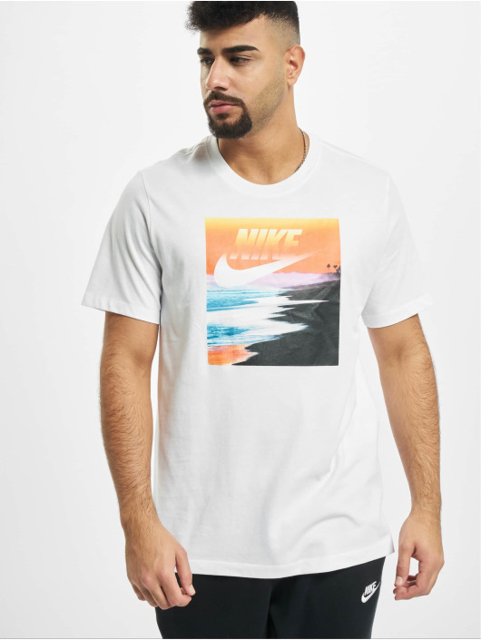 Nike T-Shirt Summer Photo 3 weiß