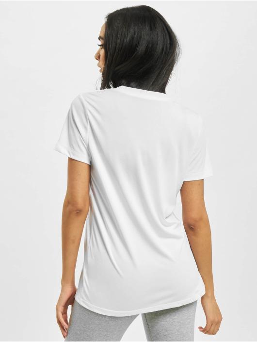 Nike T-Shirt W Nk Df Leg Crew weiß