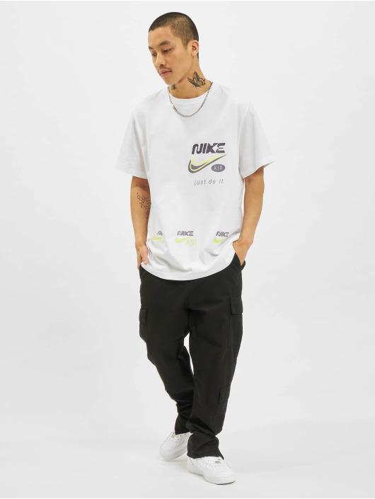 Nike T-Shirt Multibrand Swoosh weiß