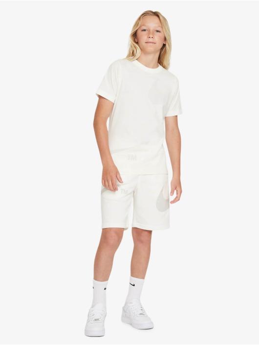 Nike T-Shirt Swoosh weiß