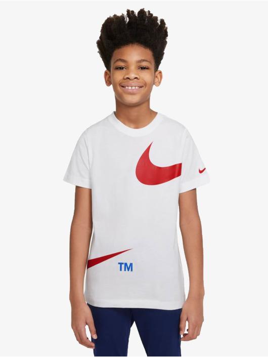 Nike T-Shirt Swoosh Pack weiß