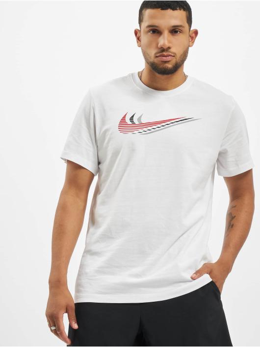 Nike T-Shirt Swoosh white