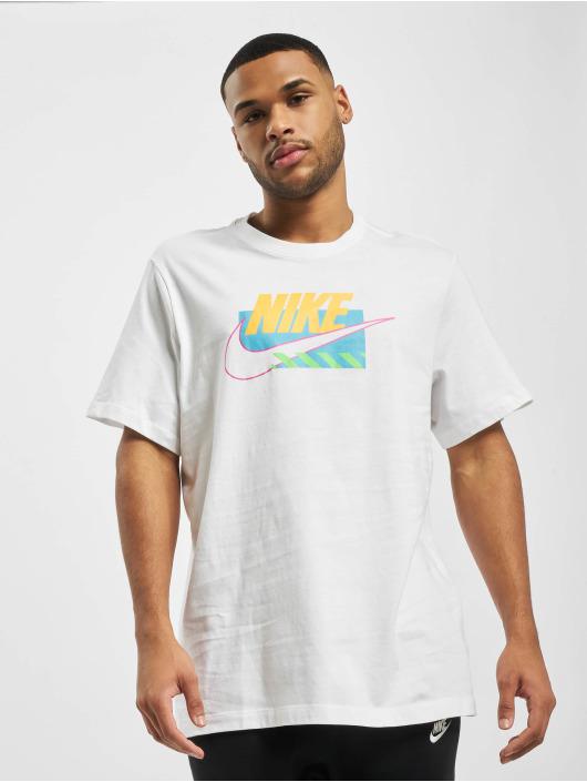 Nike T-Shirt M Nsw Sp Brandmarks Hbr white