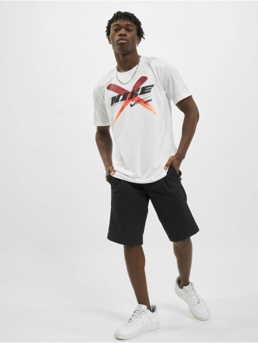 Nike T-Shirt Dri-Fit Graphic Training white