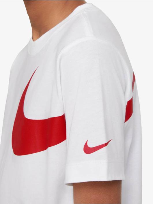 Nike T-Shirt Swoosh Pack white